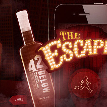 The Escapist - 42BELOW vodka